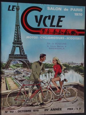 LE CYCLE 1970 - 10 - N°112 Octobre 1970