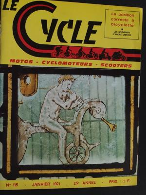 LE CYCLE 1971 - 01 - N°115 Janvier 1971