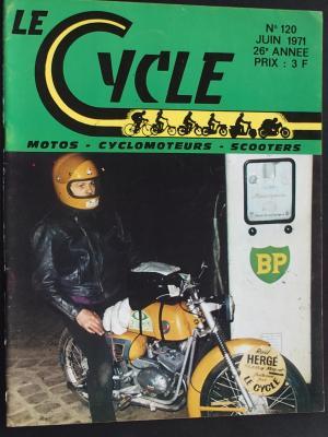 LE CYCLE 1971 - 06 - N°120 Juin 1971