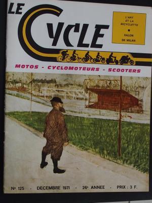 LE CYCLE 1971 - 12 - N°125 Decembre 1971