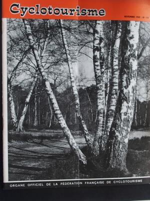 Cyclotourisme 1969 - 11 - N°170 Novembre 1969
