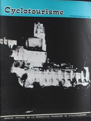 Cyclotourisme 1971 - 09- N°189 Septembre Octobre 1971