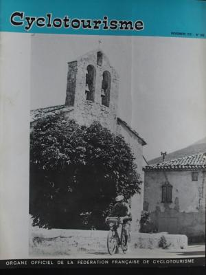 Cyclotourisme 1971 - 11- N°190 Novembre 1971