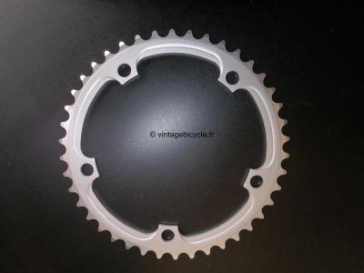 CAMPAGNOLO 42t VELOCE - MIRAGE Chainring 135mm. NOS