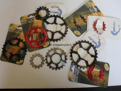 SPECIALITES TA  KHEOPS CCA alloy cog for 'Kheops'-cassette, Campagnolo-use. NOS