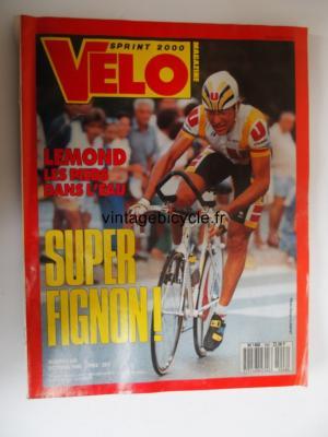 VELO SPRINT 2000 1989 - 10 - N°248 octobre 1989