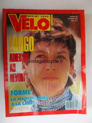 VELO SPRINT 2000 1989 - 11 - N°249 novembre 1989