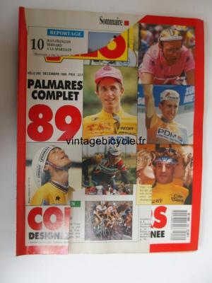 VELO SPRINT 2000 1989 - 12 - N°250 decembre 1989