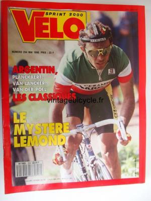 VELO SPRINT 2000 1990 - 05 - N°254 mai 1990