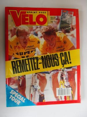 VELO SPRINT 2000 1990 - 07 - N°256 juillet 1990