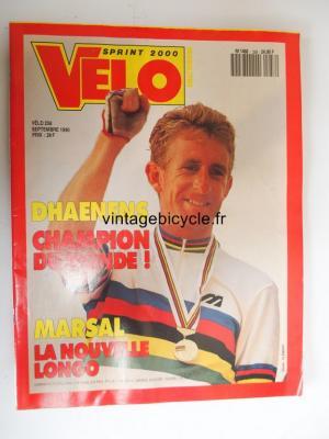 VELO SPRINT 2000 1990 - 09 - N°258 septembre 1990