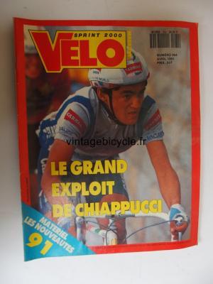 VELO SPRINT 2000 1991 - 04 - N°264 avril 1991