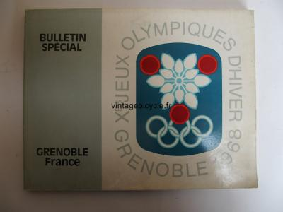 BULLETIN SPECIAL X° JEUX OLYMPIQUES GRENOBLE