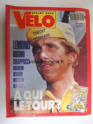 VELO SPRINT 2000 1991 - 07 - N°267 juillet 1991