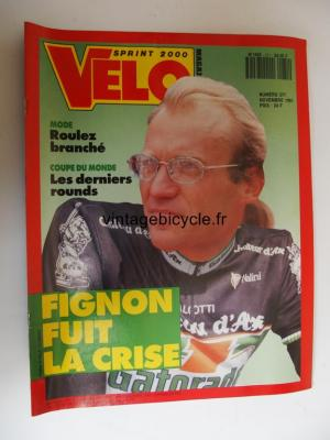 VELO SPRINT 2000 1991 - 11 - N°271 novembre 1991