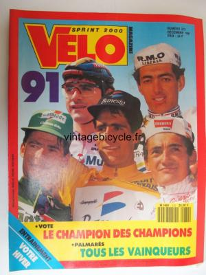 VELO SPRINT 2000 1991 - 12 - N°272 decembre 1991