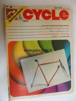 LE CYCLE l'officiel 1982 - 12 - N°85 decembre 1982