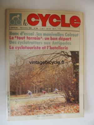 LE CYCLE l'officiel 1983 - 12 - N°96 decembre 1983