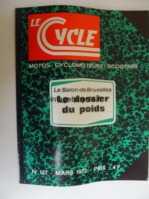 LE CYCLE 1972 - 03 - N°127 mars 1972