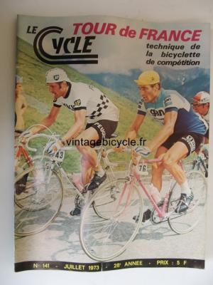 LE CYCLE 1973 - 07 - N°141 juillet 1973