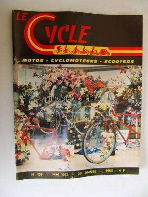 LE CYCLE 1973 - 05 - N°139 mai 1973