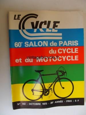 LE CYCLE 1973 - 10 - N°143 octobre 1973