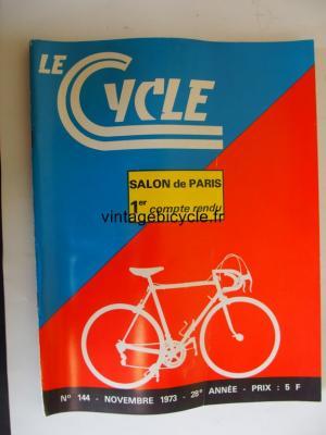 LE CYCLE 1973 - 11 - N°144 novembre 1973