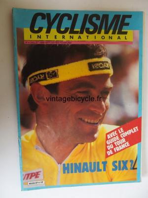 CYCLISME INTERNATIONAL 1986 - 07 - N°4 juillet 1986