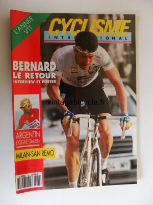 CYCLISME INTERNATIONAL 1992 - 04 - N°82 avril 1992