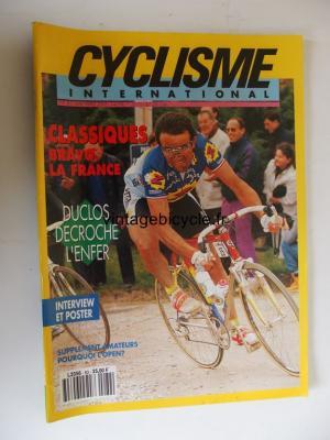 CYCLISME INTERNATIONAL 1992 - 05 - N°83 mai 1992