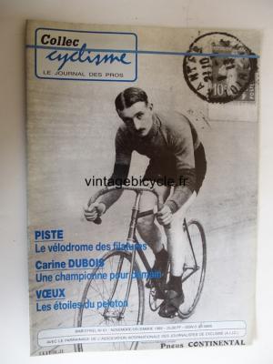 COLLEC CYCLISME 1989 - 11 - N°61 novembre / decembre 1989