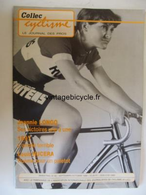 COLLEC CYCLISME 1989 - 09 - N°60 septembre / octobre 1989