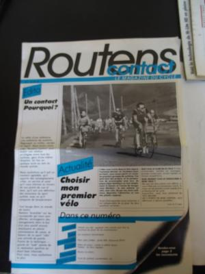 CONTACT ROUTENS 1986 - 04 - N°1 avril 1986