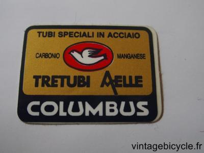 COLUMBUS AELLE TRETUBI ORIGINAL Bicycle Frame Tubing STICKER NOS