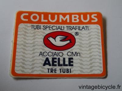 COLUMBUS AELLE TRE TUBI ORIGINAL Tubes autocollants NOS