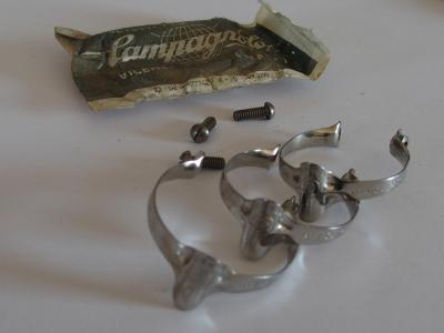 CAMPAGNOLO Brake Cable Clips(3) Nuovo Record NOS #649.