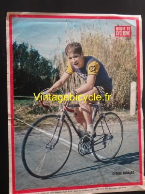 Cyrille Guimard Miroir du Cyclisme 1968 Poster 32x24cm