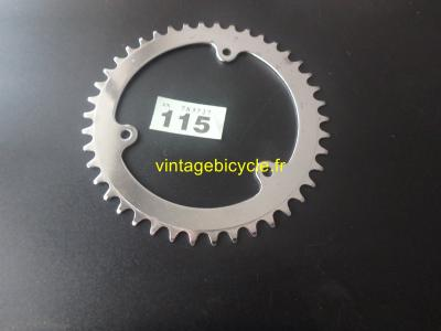 STEEL Road Chainring 42t 3/32 2,38mm 116BCD