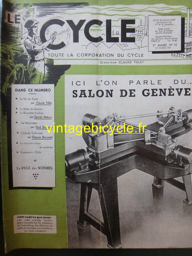 Routens vintage bicycle fr 10 copier