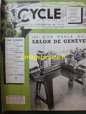 LE CYCLE 1947 - 02 - N°10 Fevrier 1947