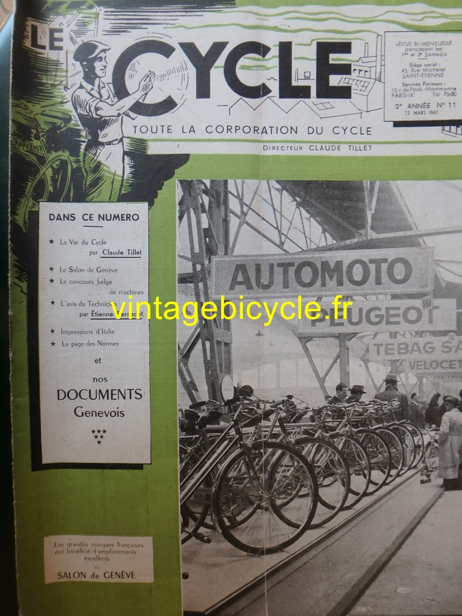 Routens vintage bicycle fr 11 copier