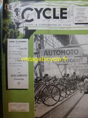 LE CYCLE 1947 - 03 - N°11 Mars 1947