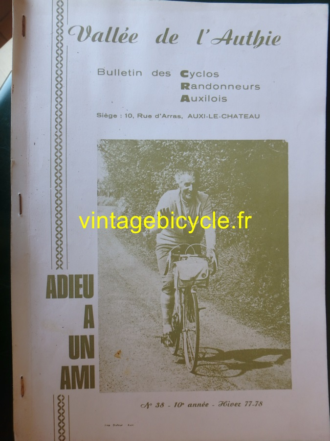 Routens vintage bicycle fr 119 copier