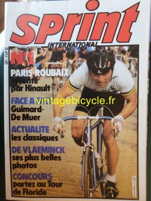 SPRINT INTERNATIONAL 1981 - 05 - N°01 mai 1981