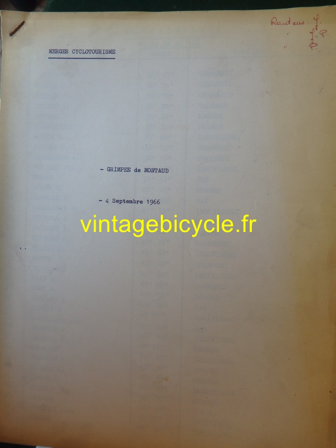 Routens vintage bicycle fr 130 copier