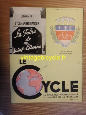 LE CYCLE 1950 - 09 - N°21 Septembre 1950
