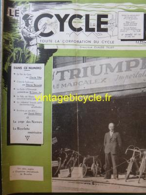 LE CYCLE 1947 - 04 - N°14 Avril 1947