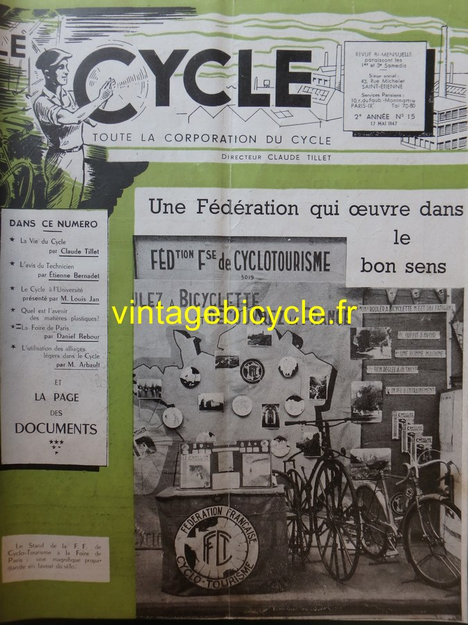 Routens vintage bicycle fr 15 copier