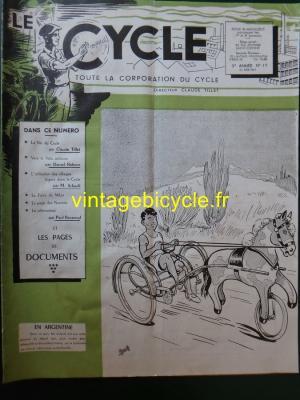 LE CYCLE 1947 - 06 - N°17 Juin 1947