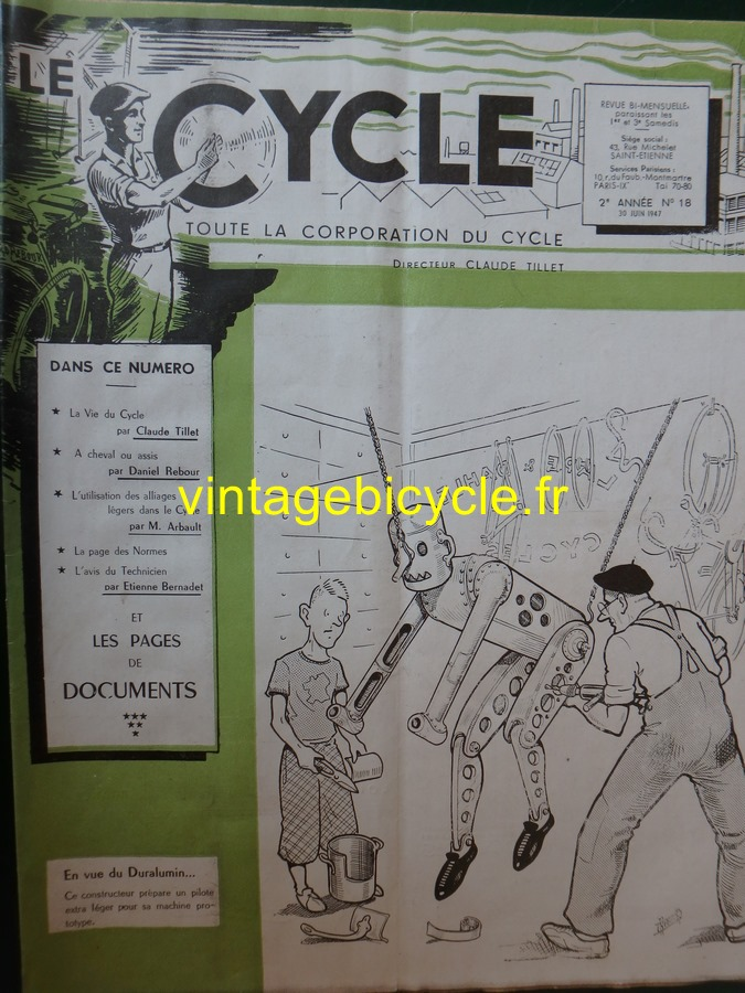 Routens vintage bicycle fr 17 copier